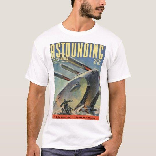 Astounding Science Fiction_ February 1940_Pulp Art T-Shirt