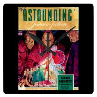 Astounding Science Fiction_ May 1943_Pulp Art Wall Clocks
