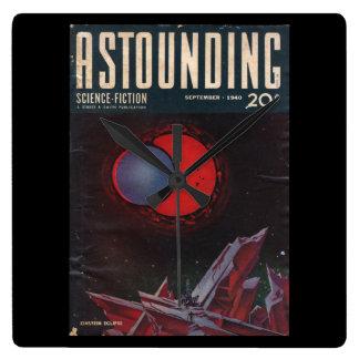 Astounding Science-Fiction, September, 1940_Pulp Wall Clock