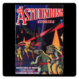 Astounding Stories 1931_Pulp Art Clock