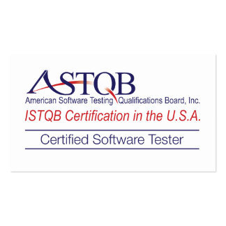 ASTQB Certified Software Tester Business Cards
