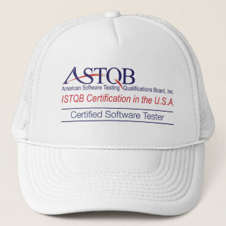 ASTQB Certified Software Tester Hat
