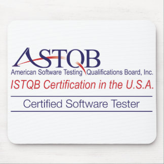 ASTQB Certified Software Tester Mousepad