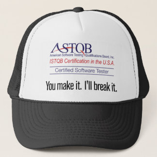 ASTQB Certified Software Tester You make it Hat