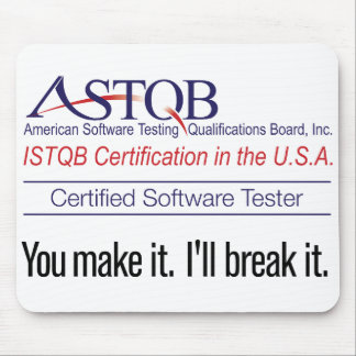 ASTQB You make it Mousepad