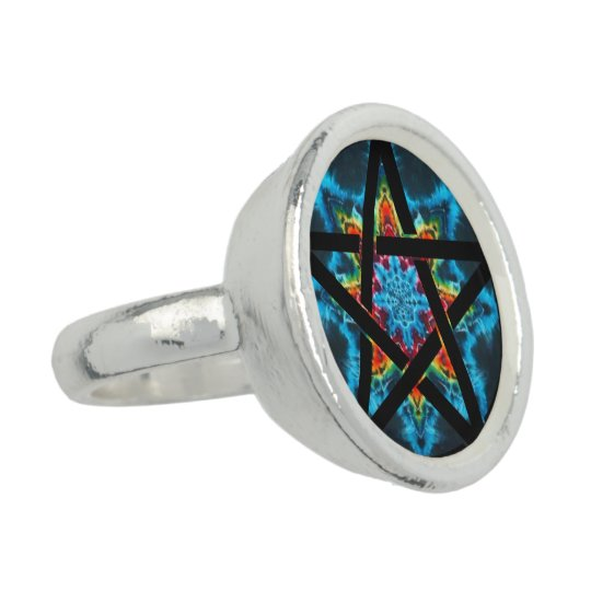 Astral Energies Pentagram Ring