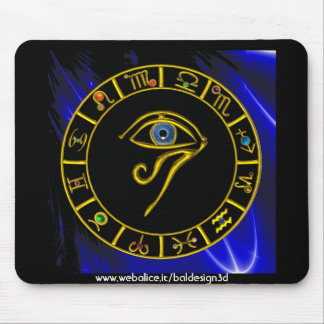 ASTRAL EYE / BLUE TALISMAN MOUSE PAD