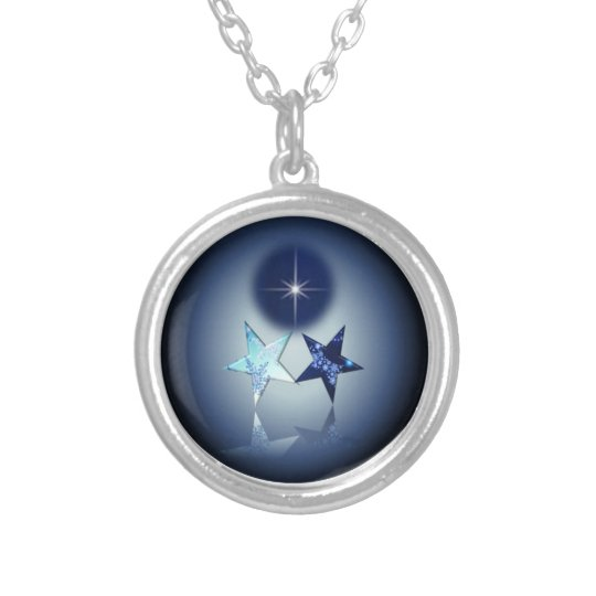 Astral Place - North Star Silver Plated Necklace