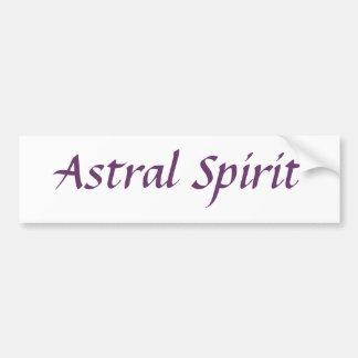 Astral Spirit Bumper Stickers
