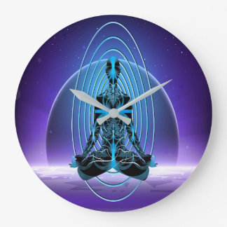 Astral Travel Large Clock