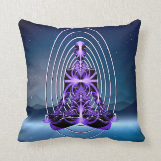 Astral Travel (mountains or loneliness) Cushion