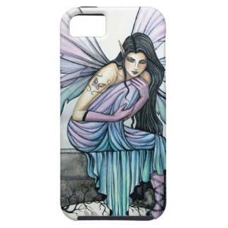 Astrid Gothic Fairy iPhone Case by Molly Harrison