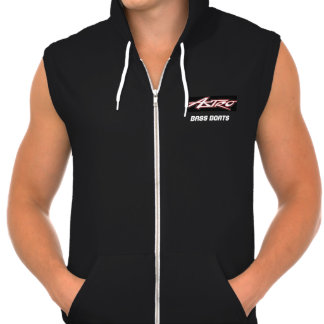 ASTRO Bass Boat cutoff Hooded Pullovers