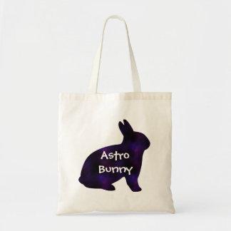 Astro Bunny Tote Bag