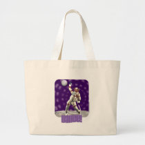 Astro Dance Totebag Large Tote Bag