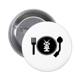 astro DJ 6 Cm Round Badge