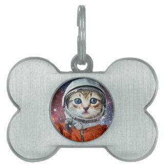 Astrocat Pet ID Tag