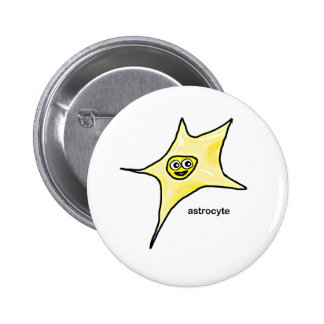 Astrocyte 6 Cm Round Badge