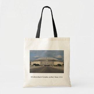 Astrodome Sports Complex, southern Texas, U.S.A. Budget Tote Bag