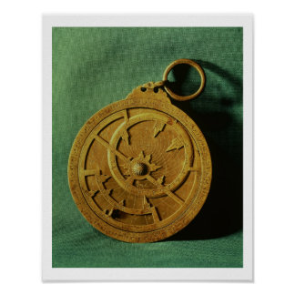 Astrolabe (copper) poster