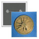 Astrolabe for calculating horoscopes, European Button