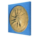 Astrolabe for calculating horoscopes, European Stretched Canvas Prints