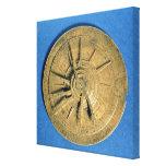 Astrolabe for calculating horoscopes, European Canvas Prints