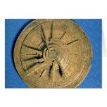 Astrolabe for calculating horoscopes, European Cards