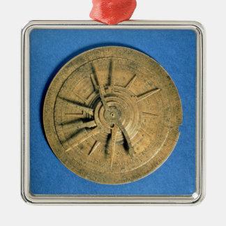 Astrolabe for calculating horoscopes, European Christmas Ornament