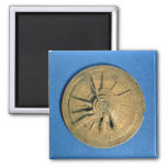 Astrolabe for calculating horoscopes, European Refrigerator Magnets