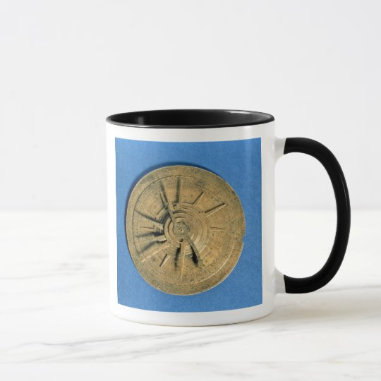 Astrolabe for calculating horoscopes, European Mug