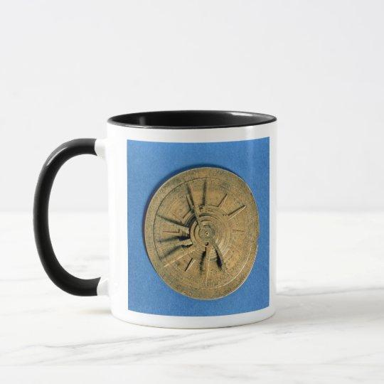 Astrolabe for calculating horoscopes, European Mug