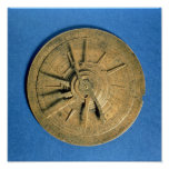 Astrolabe for calculating horoscopes, European Poster