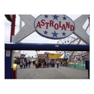 Astroland Post Card