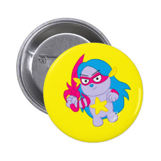 Astrollions Button Pin: Luna