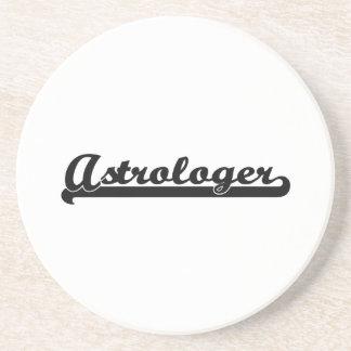 Astrologer Artistic Job Design Drink Coaster