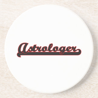 Astrologer Classic Job Design Beverage Coasters