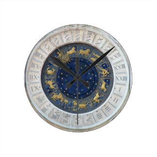 Astrological Clock,  Piazza San Marco, Venice Round Clock