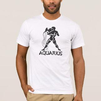 Astrological star sign Aquarius. T-Shirt