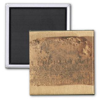 Astrological tablet, from Uruk Magnet