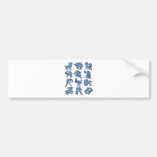 Astrology Bumper Sticker
