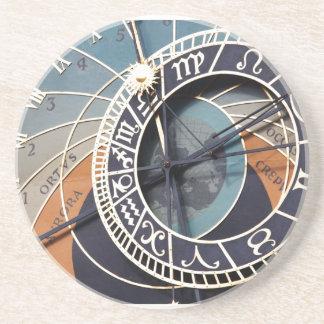 Astrology Clock Coaster