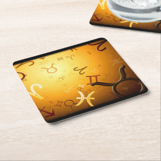 ASTROLOGY COASTERS SQUARE PAPER COASTER