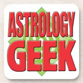 Astrology Geek v2 Drink Coaster