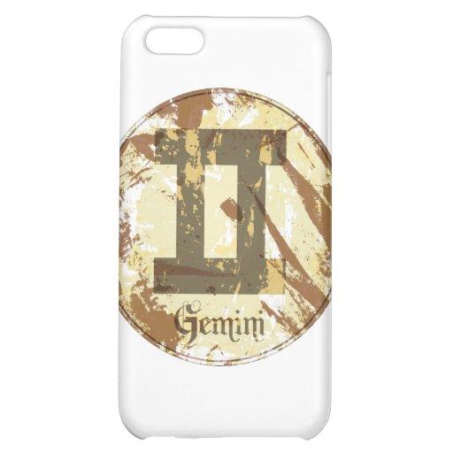 Astrology Grunge Gemini Case For iPhone 5C