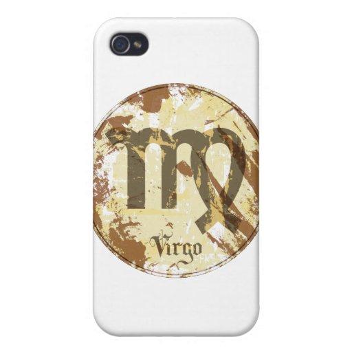 Astrology Grunge Virgo Case For iPhone 4