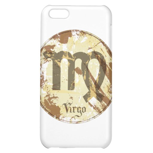 Astrology Grunge Virgo Case For iPhone 5C