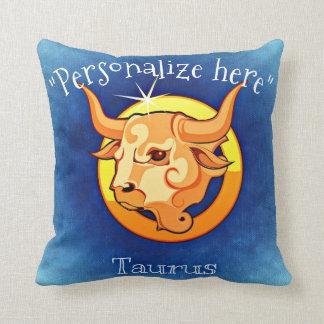 Astrology Horoscope Taurus Decorative Throw P Cushion