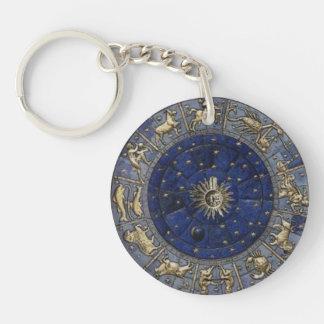 Astrology Key Ring