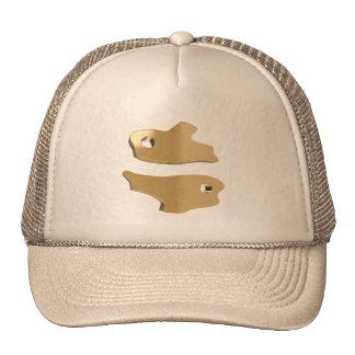Astrology Pisces Trucker Hat, Zodiac Fish Sun Sign Cap